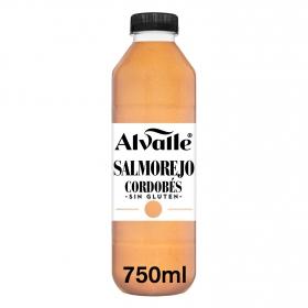 Salmorejo cordobés Alvalle sin gluten 750 ml.