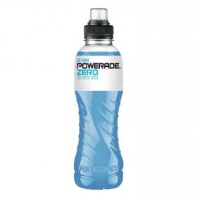 Bebida Isotónica Powerade Ice Storm zero botella 50 cl.
