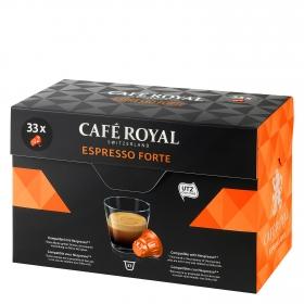 Café espresso forte en cápsulas compatible con Nespresso