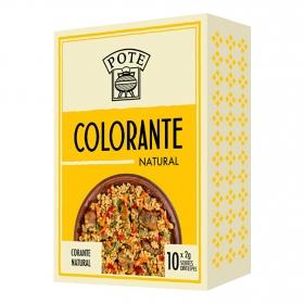 Colorante natural Pote 20 g.