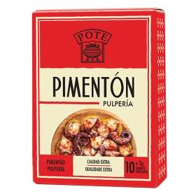 Pimentón pulpería calidad extra Pote 20 g.