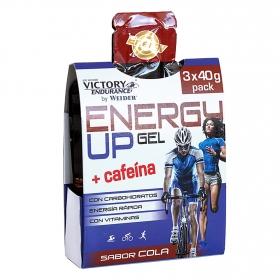 Energy Up gel + cafeína sabor cola