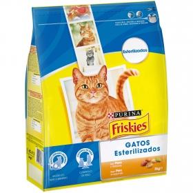 Comida para gatos Esterilizados con Pavo y Verduras