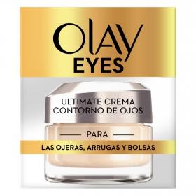 Contorno de ojos para las ojeras, arrugas y bolsas Olay 15 ml.