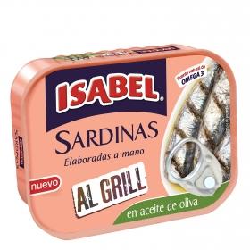 Sardinas al grill en aceite de oliva Isabel 85 g.