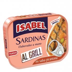 Sardinas al grill en salsa picantona Isabel 85 g.
