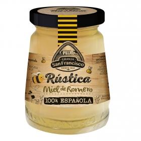 Miel de romero rústica Granja San Francisco 250 g.