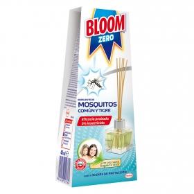 Repelente de mosquitos común y tigre Bloom Zero 1 ud.