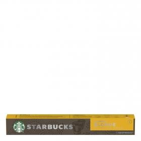 Café espresso blonde en cápsulas Starbucks compatible con Nespresso 10 unidades de 5,3 g.