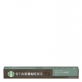 Café espresso pike place Starbucks en cápsulas compatible con Nespresso 10 unidades de 5,3 g.