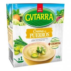 Crema de puerros Gvtarra 340 g.