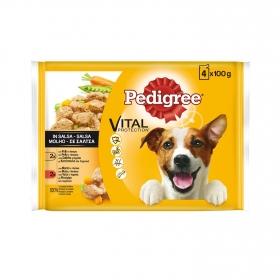 Comida para perro pollo, buey y verdura