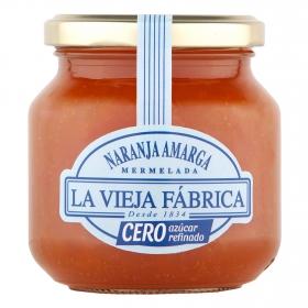 Mermelada de naranja amarga cero azúcar La Vieja Fábrica