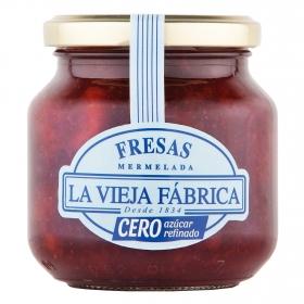 Mermelada de fresa cero azúcar La Vieja Fábrica