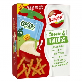 Queso mini Babybel Cheese & Friends 130 g.