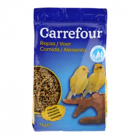 Comida para Canarios 1 Kg, Carrefour