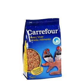 Comida para Pájaros Exóticos 1 Kg, Carrefour