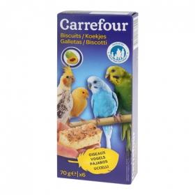 Galletas para Pájaros, Carrefour