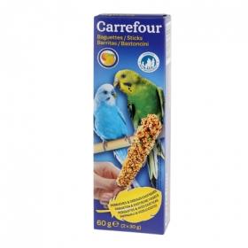 Barritas para Periquitos con Frutas, Carrefour