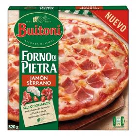 Pizza de jamón serrano Forno Di Pietra Buitoni 399 g.