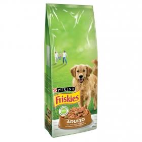 Purina Friskies Pienso para Perro Adulto Aves y Verduras 15Kg