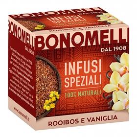 Infusión Rooibos con vainilla Bonomelli 20 g.