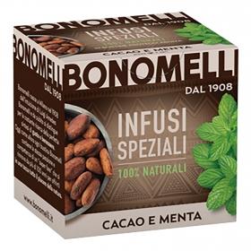 Infusión de cacao y menta Bonomelli 20 g.