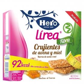 Barritas de avena y miel Linea Fibra Hero 3 unidades de 40 g.