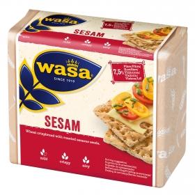 Pan tostado con sésamo Wasa 200 g.