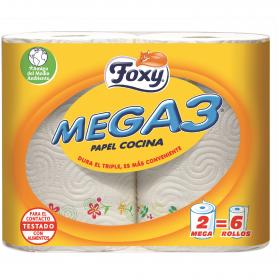 Papel de cocina Mega 3
