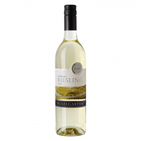 Vino alemán blanco dulce Riesling Classic Moselgarten 75 cl.