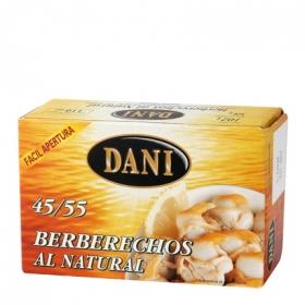 Berberechos rias gallegas 45/55 Dani 63 g.