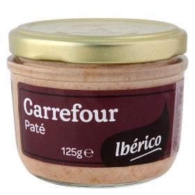 Paté ibérico Carrefour 125 g.