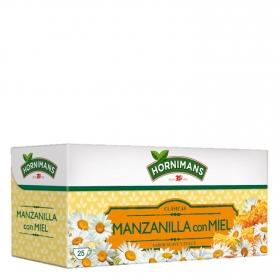 Manzanilla con miel en bolsitas Hornimans 25 ud.