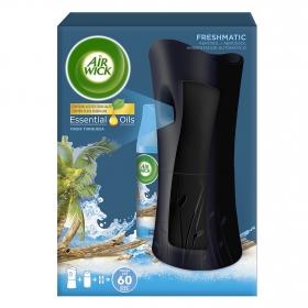 Ambientador Automático aparato+ recambio Fresh Matic Oasis Turquesa