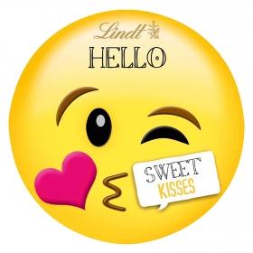 Chocolate Hello emoji