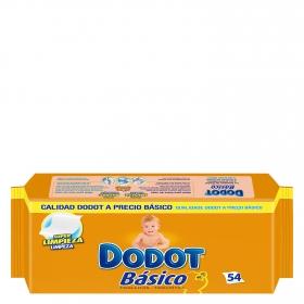 Toallitas para bebé Básico Dodot 54 ud.