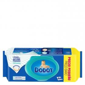 Toallitas para bebé con tapa Dodot 64 ud.