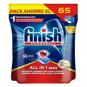 Lavavajillas máquina Todo en 1 Max Finish 65 ud.