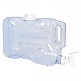 Bote Portalíquidos de Plástico 5,67 l Transparente