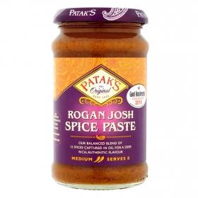 Pasta de especias aromáticas Rogan Josh Patak's 283 g.