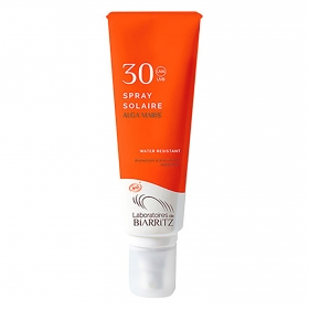Spray solar SPF 30 ecológico Alga Maris 125 ml.