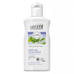 Tónico facial purificante Bio con Ginko y uva