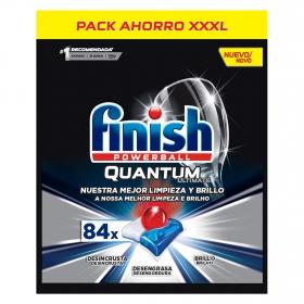 Lavavajillas máquina quantum ultimate en pastillas Finish 84 ud.