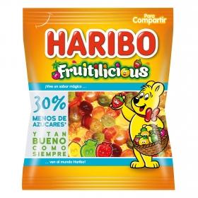 Caramelos de goma fruitilicious Haribo 160 g.
