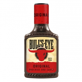 Salsa barbacoa original Bull's Eye botella 300 ml.