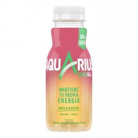 Bebida Isotónica Aquarius Raygo sabor granada y mango 25,5 cl.