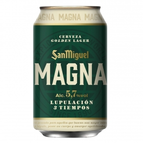 Cerveza San Miguel Magna lata 33 cl.