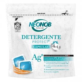 Detergente en cápsulas Protect + Neonob 20 ud.