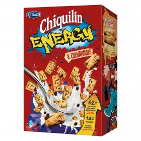 Galleta con cereales y pepitas de chocolate Chiquilín energy